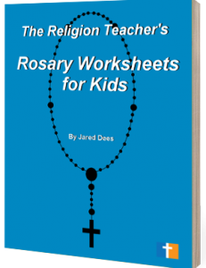 Rosary Worksheets for Kids