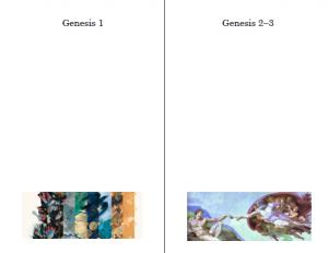 Worksheet: Genesis Creation Stories Lesson Plan