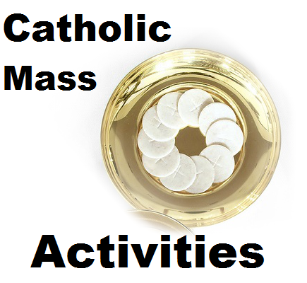 Catholic Mass Activities for Kids