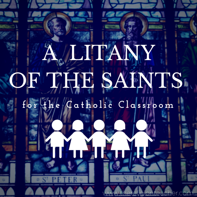A Class Litany of the Saints